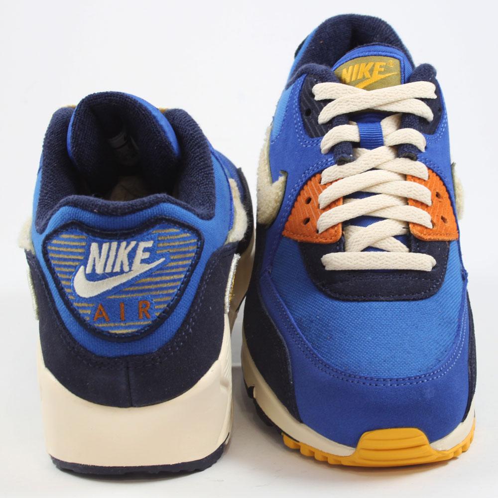 Nike Herren Sneaker Air Max 90 Premium SE Game RoyalLight Cream