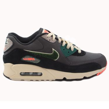 Nike Herren Sneaker Air Max 90 Premium SE Oil Grey/Rainforest
