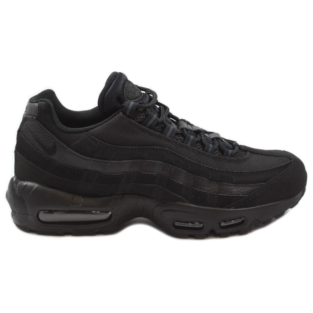 nike herren sneaker air max 95 black black anthracite. Black Bedroom Furniture Sets. Home Design Ideas
