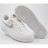 Preview 2 Nike Herren Sneaker Air Force 1 ´07 LV8 JDI LNTC White/White-Black-Total Orange