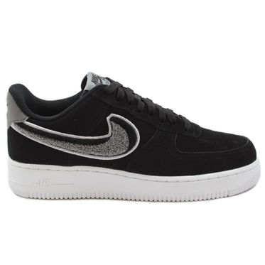 Nike Herren Sneaker Air Force 1 ´07 LV8 Black/White-Cool Grey-White