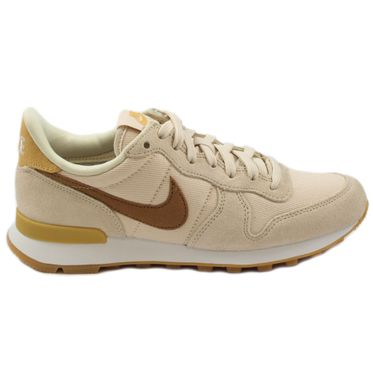 Nike Damen Sneaker Internationalist Beach/Wheat Gold-Summt White