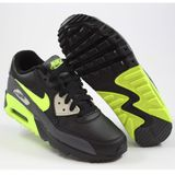 Preview 2 Nike Damen/Kinder Sneaker Air Max 90 LTR Dark Grey/Volt-Black