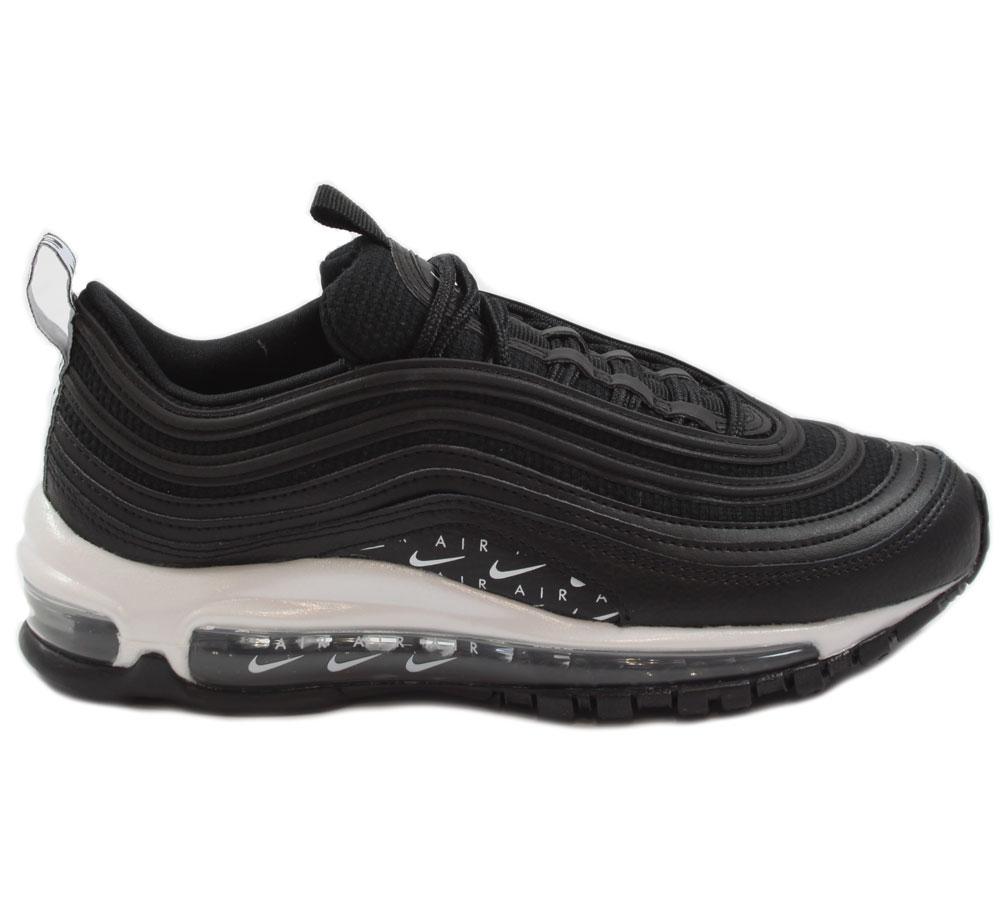 Nike Damen Sneaker Air Max 97 LX BlackBlack White