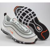 Preview 2 Nike Herren Sneaker Air Max 97 White/Cone-Metallic Silver