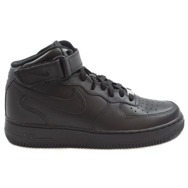 Nike Herren Sneaker Air Force 1 Mid ´07 Black/Black-Black