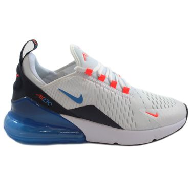 Nike Damen Sneaker Air Max 270 BG White/Photo Blue