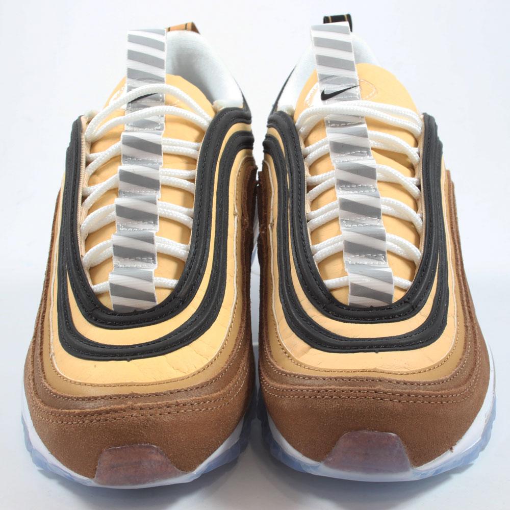 Nike Herren Sneaker Air Max 97 Ale BrownBlack Elemental Gold