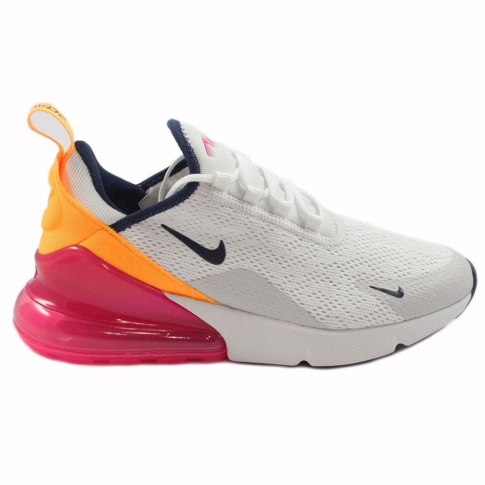 Nike Damen Sneaker Air Max 270 Summt WhiteMidnight Navy