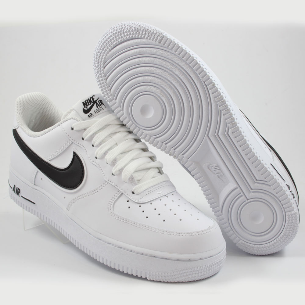 outlet store 503b8 55406 ... Preview 2 Nike Herren Sneaker Air Force 1 ´07 3 White Black ...