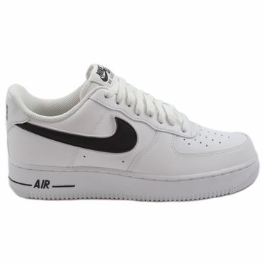 Nike Herren Sneaker Air Force 1 ´07 3 White/Black