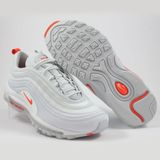 Preview 2 Nike Herren Sneaker Air Max 97 Pure Platinum/Team Orange