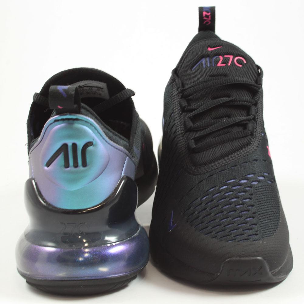 Nike Herren Sneaker Air Max 270 Black/Laser Fuchsia ...