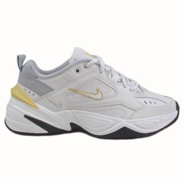 Nike Damen Sneaker M2K Tekno Platinum Tint/Celery-Wolf Grey