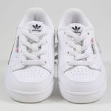 Preview 4 Adidas Kinder Sneaker Continental 80 FtwWht/ScaRle/CoNavy G28218