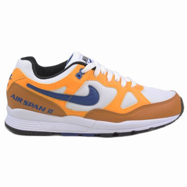 Nike Herren Sneaker Air Span II Yellow Ochre/Indigo Force