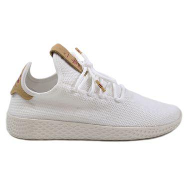 Adidas Damen Sneaker PW Tennis HU FtwWht/FtwWht/RawSan D96444