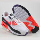 Preview 2 Nike Damen/Kinder Sneaker Air Max 90 LTR White/Bright Crimson-Black