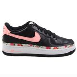 Preview 1 Nike Damen/Kinder Sneaker Air Force 1 VF Black/Pink Tint-White