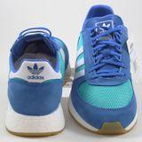 Preview 3 Adidas Herren Sneaker Marathon Tech HirAqu/FtwWht/Blue EE4918
