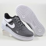 Preview 2 Nike Damen/Kinder Sneaker Air Force 1 LV8 2 Dark Grey/White-Black-White