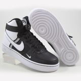 Preview 2 Nike Damen/Kinder Sneaker Air Force 1 High LV8 2 Black/White-Wolf Grey-White