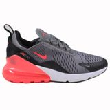 Nike Damen Sneaker Air Max 270 Gunsmoke/Hot Punch Black-White