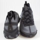 Preview 3 Nike Herren Sneaker React Element 55 SE Black/Dark Grey