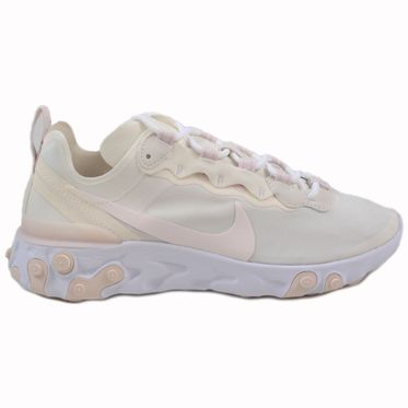 Nike Damen Sneaker React Element 55 Pale Ivory/Light Soft Pink