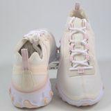 Preview 3 Nike Damen Sneaker React Element 55 Pale Ivory/Light Soft Pink