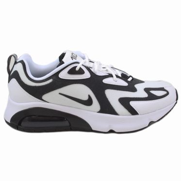 Nike Herren Sneaker Air Max 200 White/Black-Anthracite