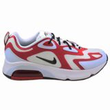 Preview 1 Nike Herren Sneaker Air Max 200 White/Black-Gym Red-Half Blue