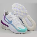 Preview 2 Nike Herren Sneaker Air Max 270 React White/Light Blue-Aurora Green