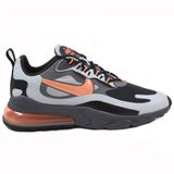 Nike Herren Sneaker Air Max 270 React WTR Wolf Grey/Total Orange-Black