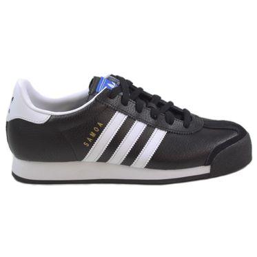 Adidas Herren Sneaker Samoa CBlack/FtwWht/GoldMt 019351