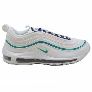 Nike Herren Sneaker Air Max 97 Summt White/Neptune Green