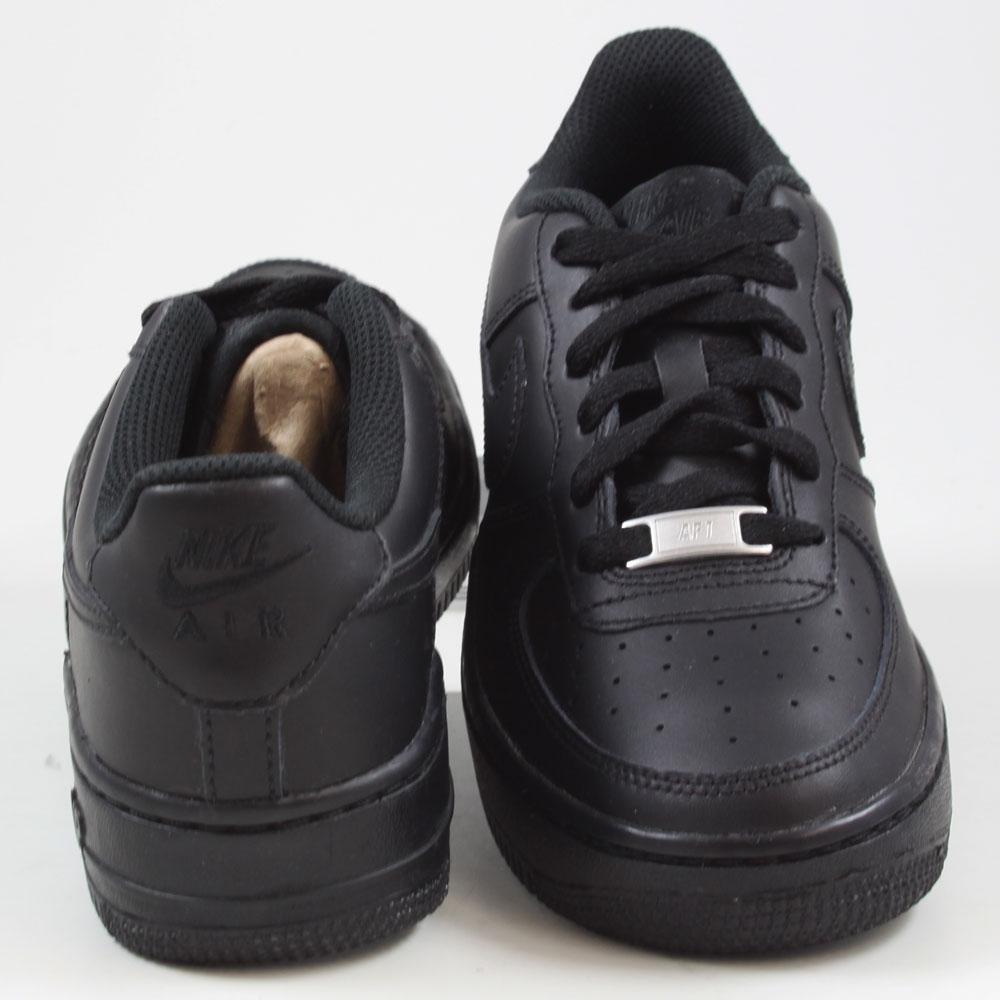Nike DamenKinder Sneaker Air Force 1 BlackBlack Black