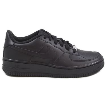 Nike Damen/Kinder Sneaker Air Force 1 Black/Black-Black