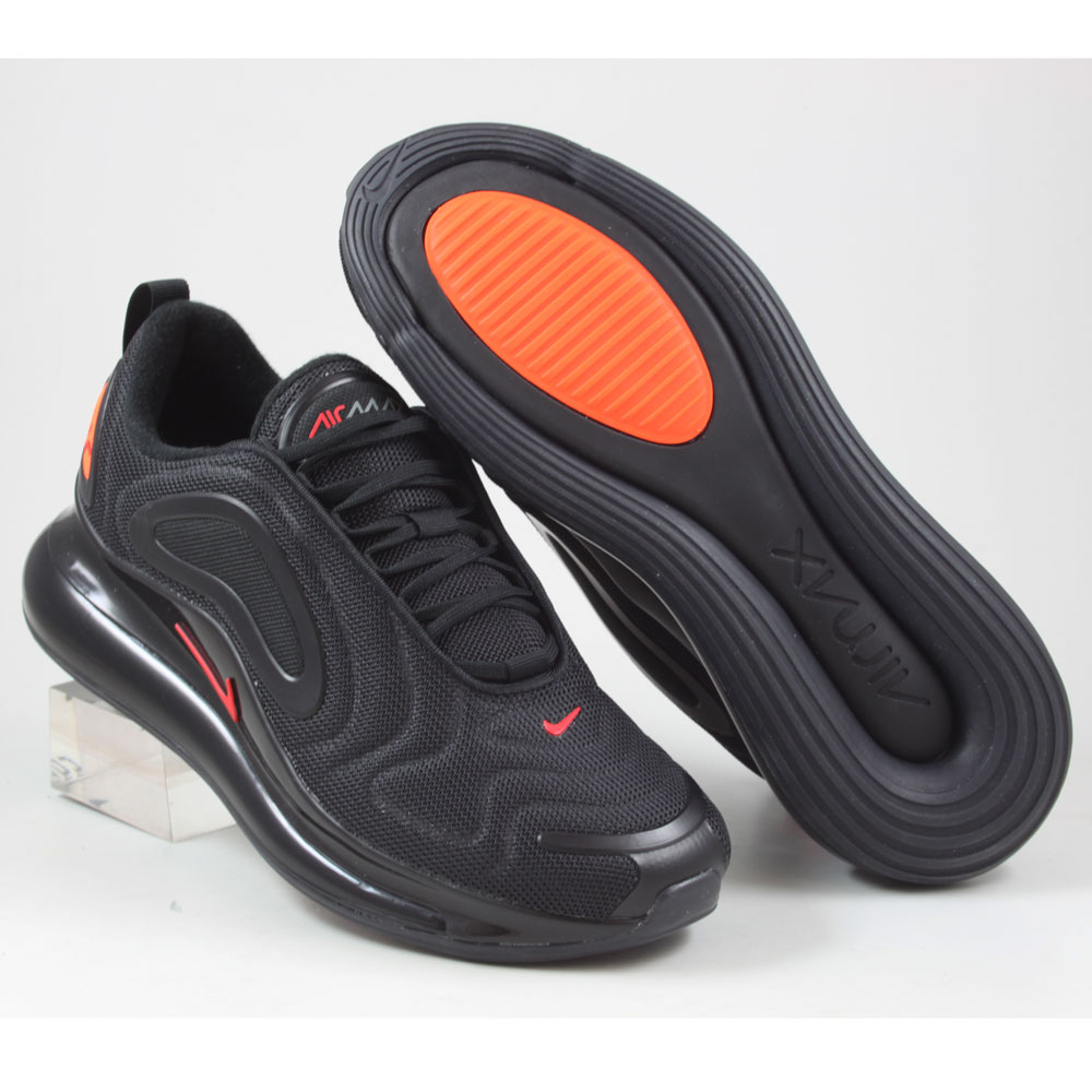nike air max 720 herren schwarz orange
