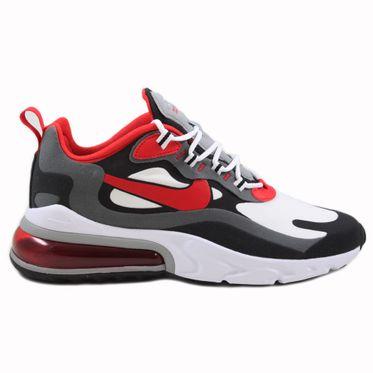 Nike Herren Sneaker Air Max 270 React Black/University Red-White