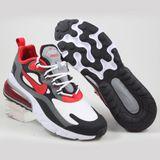 Preview 2 Nike Herren Sneaker Air Max 270 React Black/University Red-White