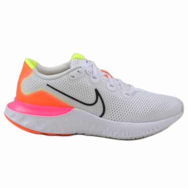 Nike Damen Sneaker Renew Run White/Black-Platinum Tint