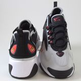 Preview 3 Nike Herren Sneaker ZOOM 2K Black/Track Red-Grey Fog-White