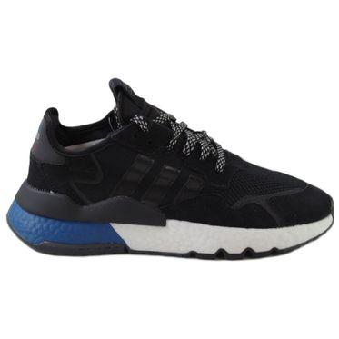 Adidas Herren Sneaker Nite Jogger CBlack/CBlack/LusBlu FW5331