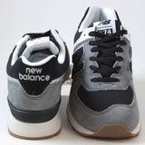 Preview 3 New Balance Herren Sneaker ML574SPE Grey/Black