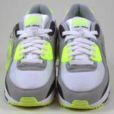 Preview 4 Nike Herren Sneaker Air Max 90 White/Particle Grey-Volt-Black