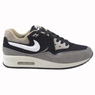 Nike Herren Sneaker Air Max Light Essential Black/White-Chino-Flat Pewter