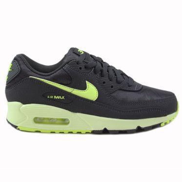 Nike Damen Sneaker Air Max 90 Dk Smoke Grey/Volt-Barely Volt