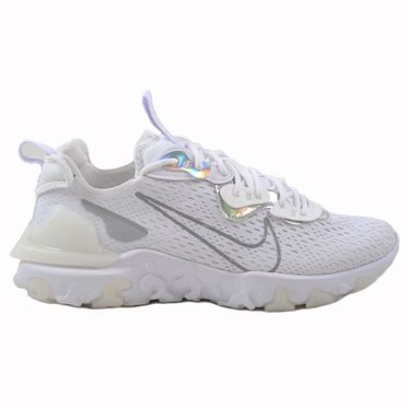 Nike Herren Sneaker NSW React Vision Essential White/Particle Grey-White