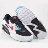 Preview 2 Nike Herren Sneaker Air Max 90 Summt White/Chile Red